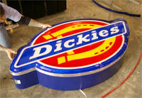 Custom Logo Box Cabinet - Dickies